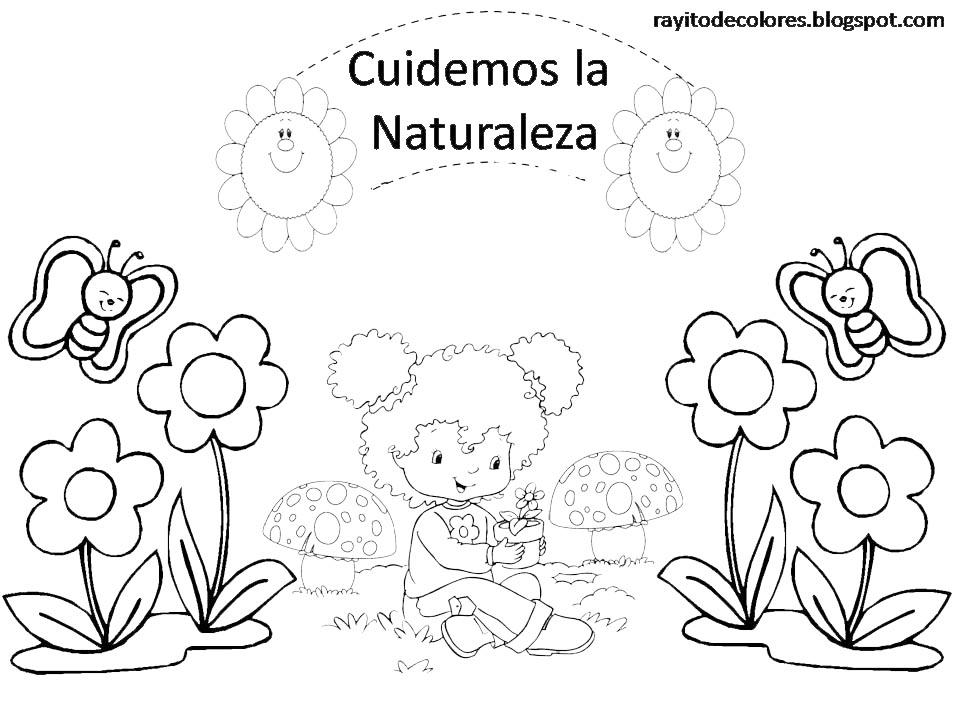 Lujoso Naturaleza Avanzada Para Colorear Inspiración - Dibujos Para ...