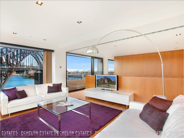 Picture of modern penthouse living room