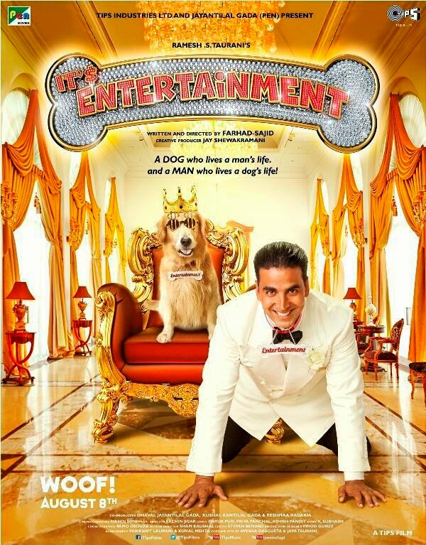 Akshay Kumar 's Its  Entertainment First poster