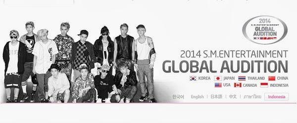 Syarat dan Tata Cara Mendaftar Audisi 'SM Entertainment Global Audition' di Jakarta