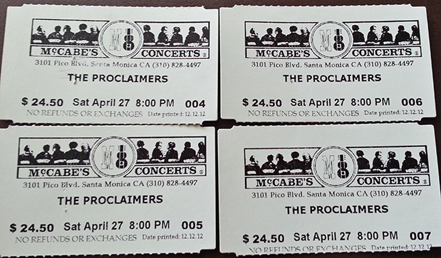 CONCERT OVERLOAD: Concert #674 - The Proclaimers at McCabe\'s Guitar ...