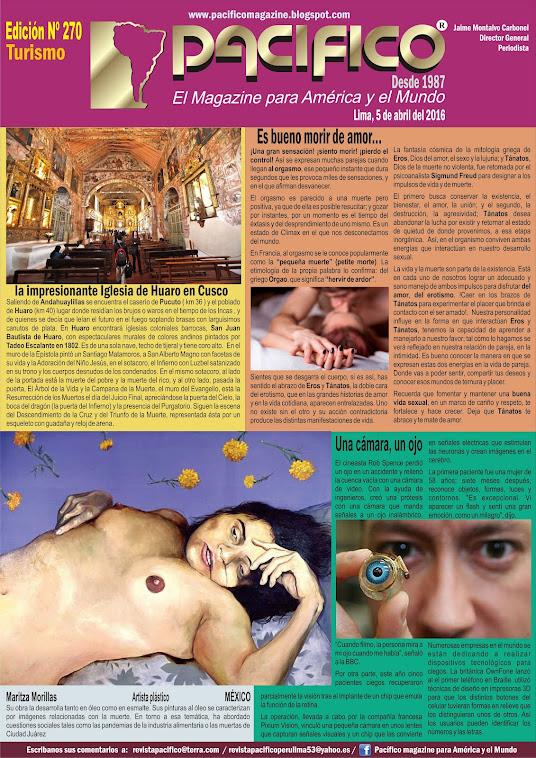 Revista Pacífico Nº 270 Turismo