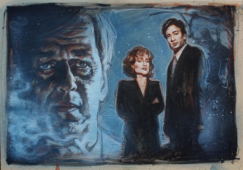 X-Files, Artwork is Copyright © 2014 Jeff Lafferty