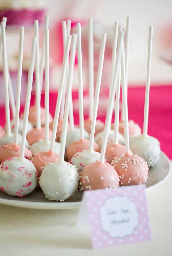 cake pops rose