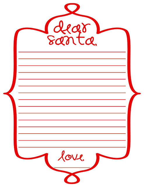 christhingsss: Letters to Santa and More