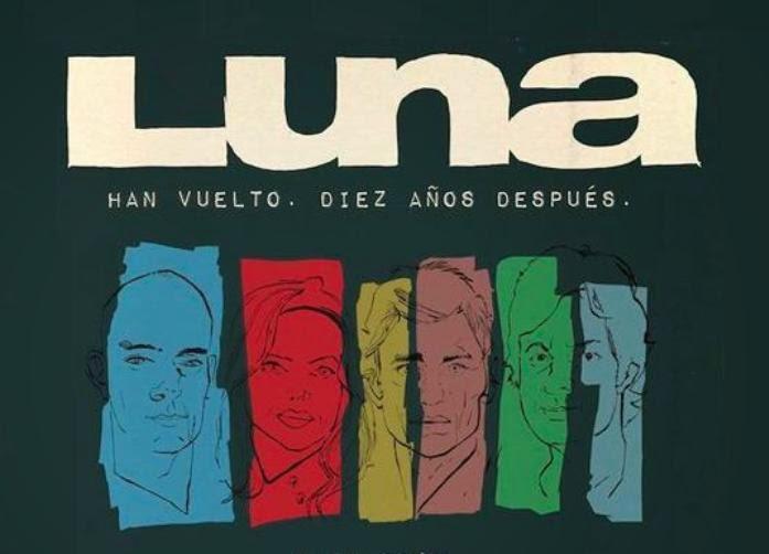 LUNA - 10 años después - Gira 2015