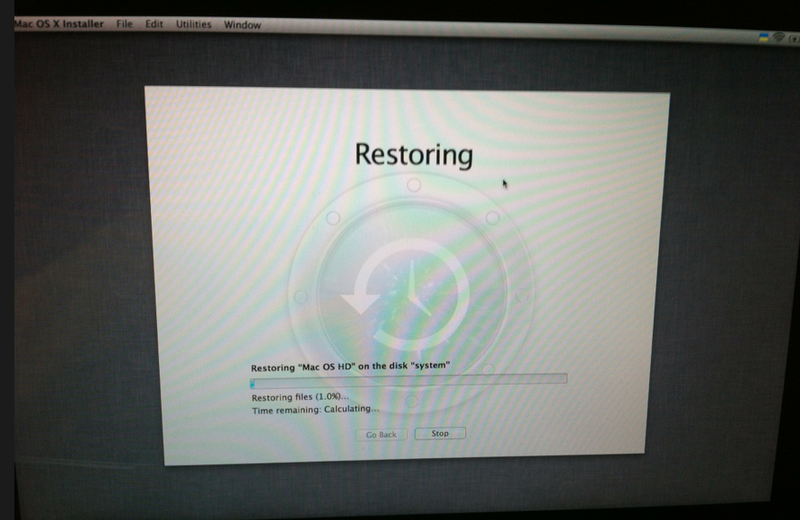 Finalizing file restore taking forever