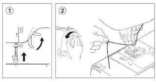 sacar hilo canilla maquina de coser