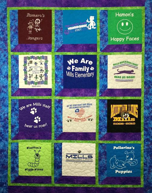 Debbie Seitz's Quilt for the Principal