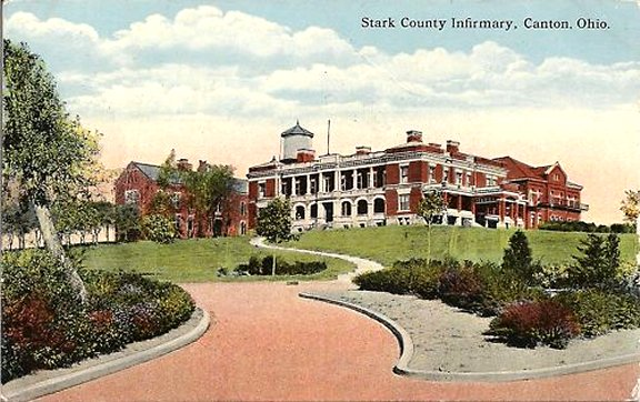 Stark County Infirmary Postcard