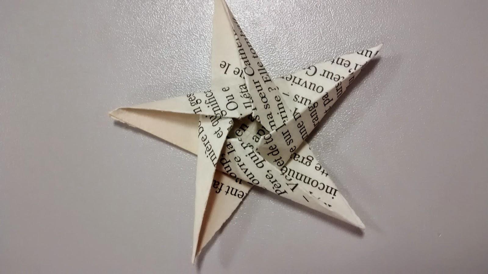 bijoux en origami tuto