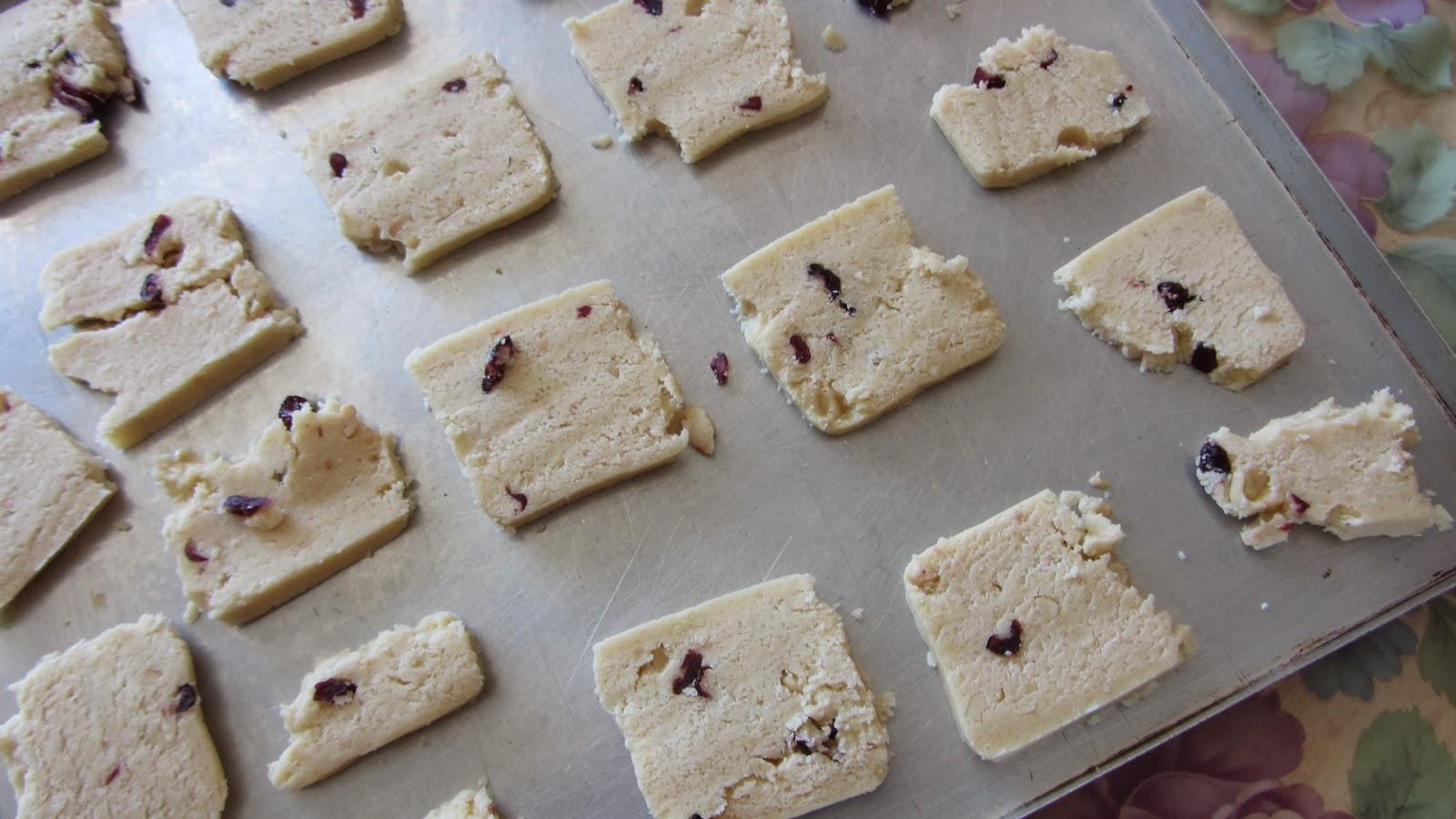 печенье перед выпечкой