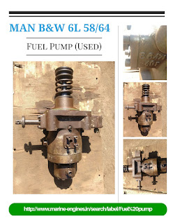 used, spare parts, MAN, B&W, Fuel Pump, Crankshaft, Piston, reusable, recycle,