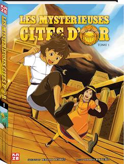 Les Mystérieuses Cités d'Or, le manga
