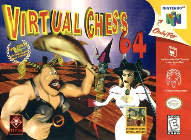 Virtual Chess 64 ROMs Nintendo64 Español