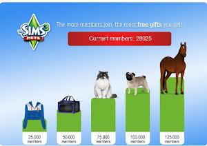club free Sims Pets Club