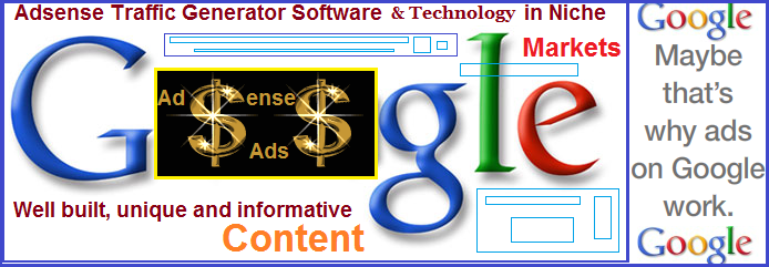 Niche Markets pay Faster: Adsense Monetizing Technology & Software