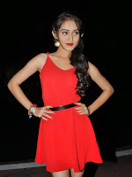 Tanya Sharma in red at Love states audio launch-cover-photo