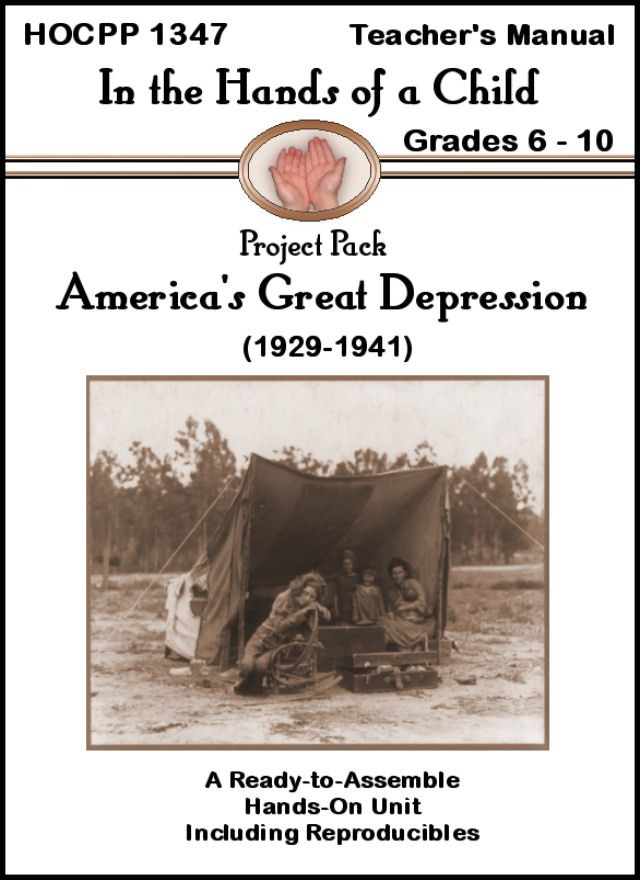 Home sweet life in the hands of a child americas great to review the americas great depression curriculum from in the hands of a child also known as hoac we were provided the notepack ebook version fandeluxe Choice Image