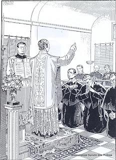 Vestição dos Irmãos Leigos Servos dos Pobres, do Beato Giacomo Cusmano