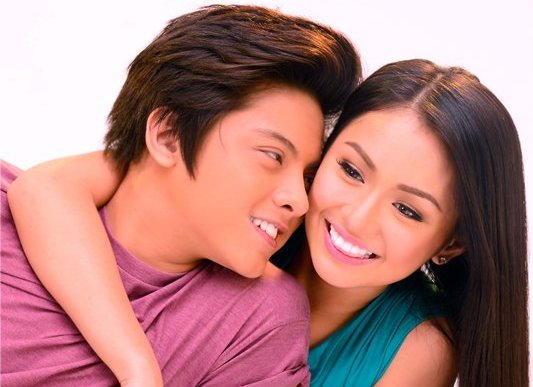 another sweet photo of Daniel and Kathryn
