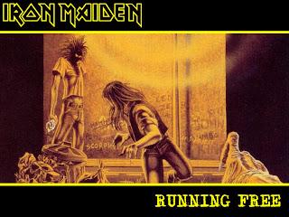 Iron Maiden Running Wild