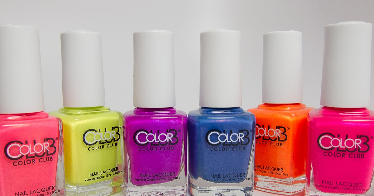 The Polished PhD: Extended Review: Color Club 2014 Neon Poptastic ...