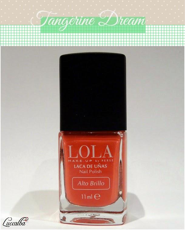 nail polish, tangerine dream, laca de uñas
