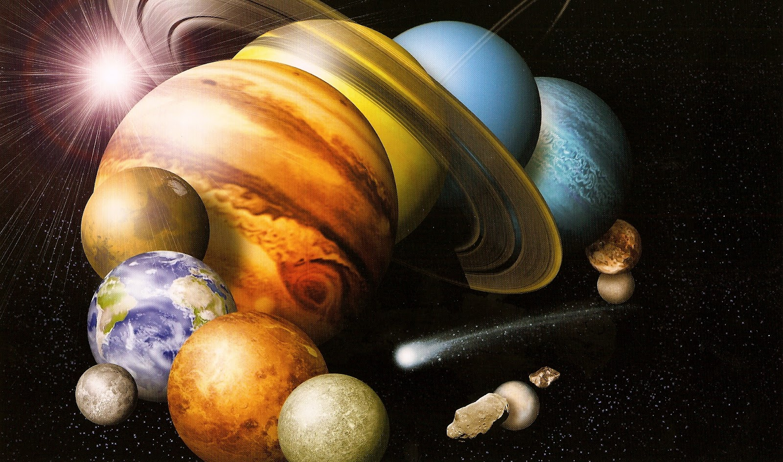 real pictures of the solar system planets - photo #31