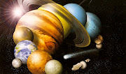 . Voyager, Saturn (Jewel of the Solar System) and Jupiter or the set of .