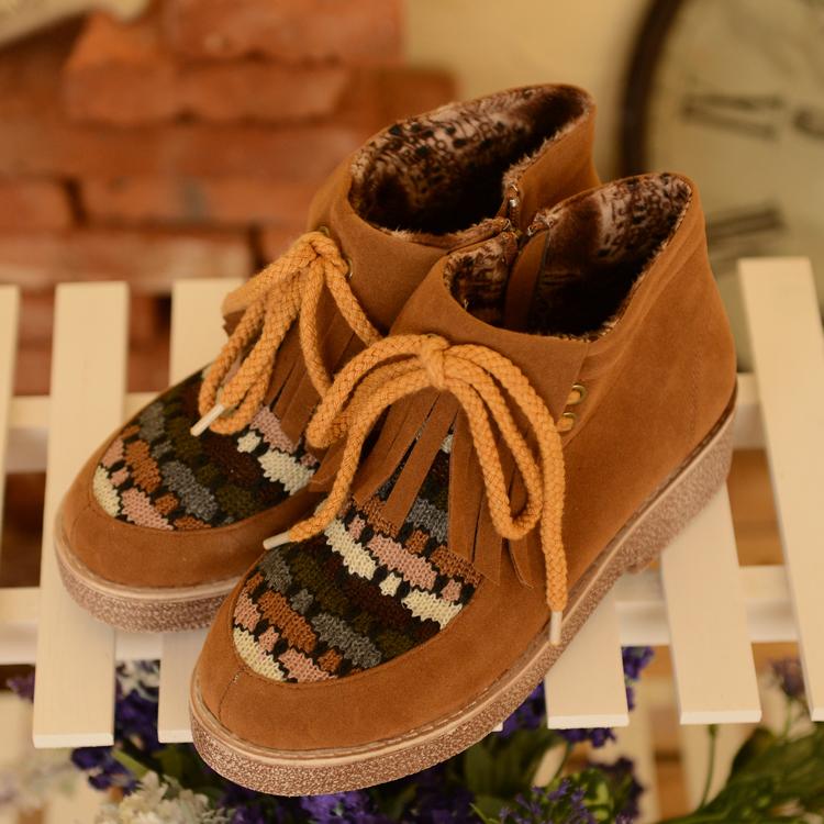 giày tua phong cách vintage