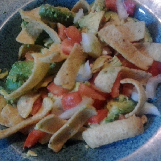 Avocado Corn Chip Salad with Chili Dressing #TheSaladBar ...