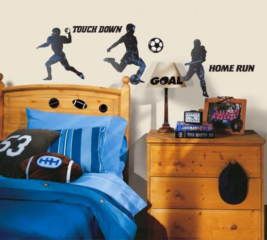 Nội thất với phong cách thể thao cho phòng ngủ của bé 5