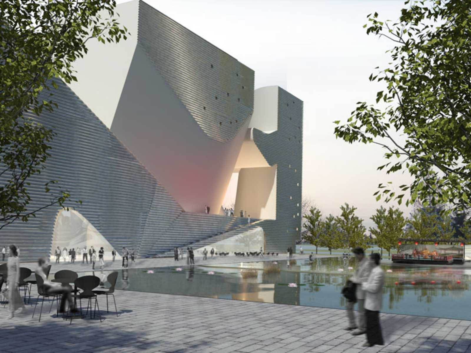 Architecture Design Ecological Planning ecology museum and planning museumsteven holl