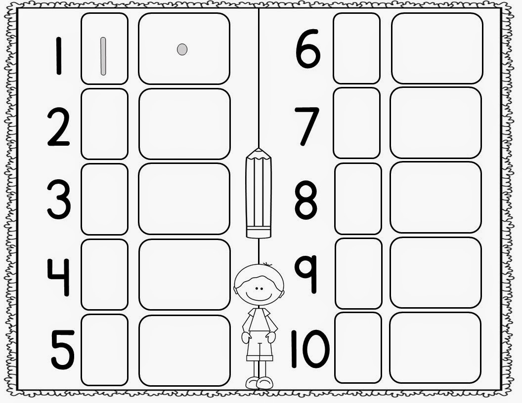 Mrs McGinnis Little Zizzers New Kindergarten Teaching Materials – Number Sense Worksheets for Kindergarten
