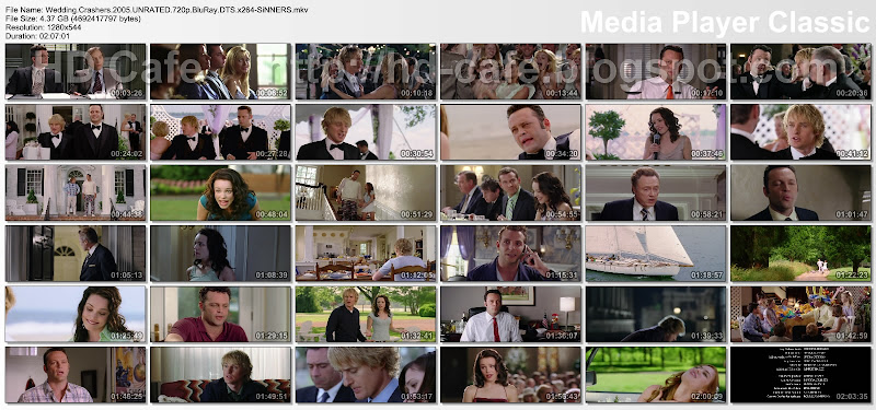 Wedding Crashers 2005 video thumbnails