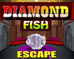 Juegos de Escape Diamond Fish Escape