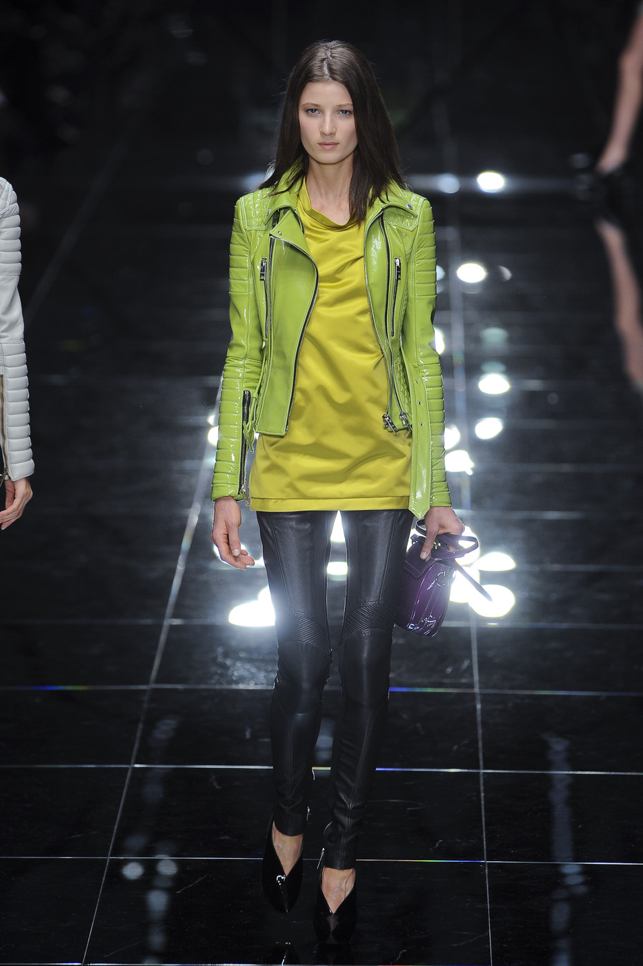 via fashioned by love | Burberry Prorsum Spring/Summer 2011 | green