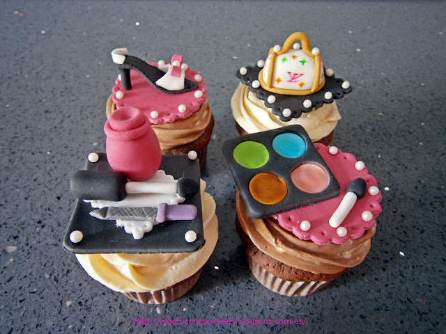 cupcakes con glamour