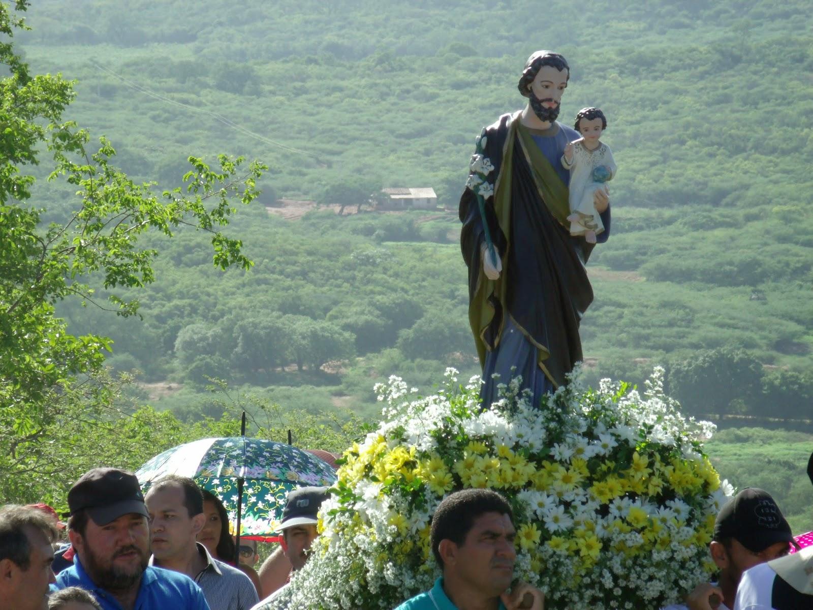Imagens da Santa Missa de encerramento da festa de São José
