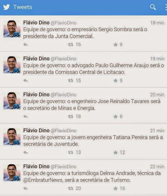 Twitter Flávio Dino
