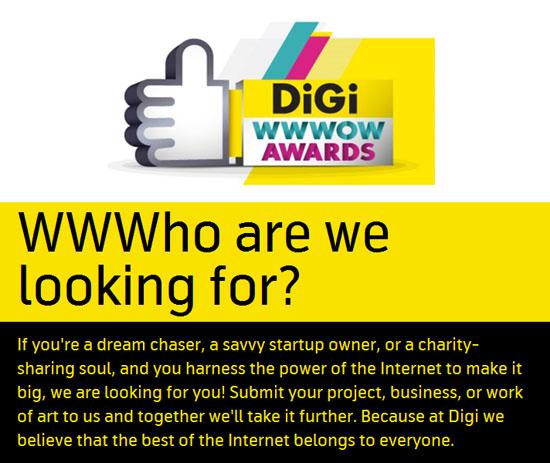 Digi WWWOW Awards 2015