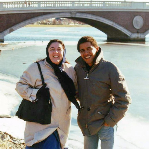 Barack Obama And his family , old photos