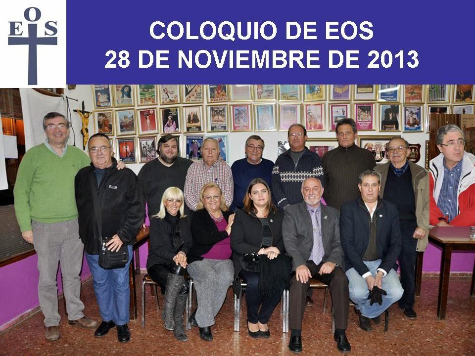 ULTIMO COLOQUIO DE 2013