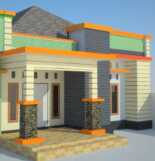gambar desain teras rumah keren