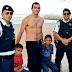 Policial canindeense salva garotos que se afogavam na praia do do Náutico