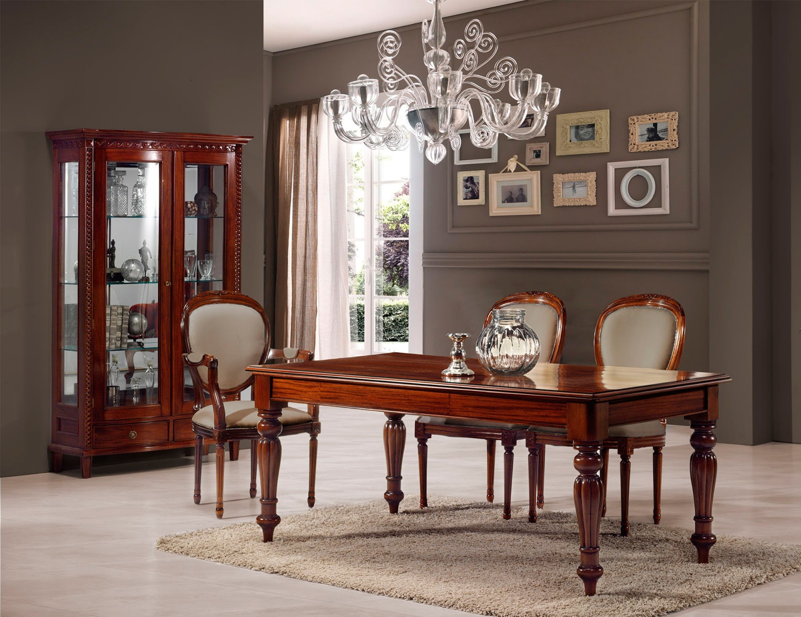 Muebles de comedor 10 comedores con vitrina - Comedor con vitrina ...