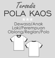 Jual Pola Kaos Bandung
