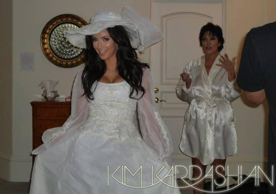 3 Wedding Dresses Kim Kardashian : My s the wedding of celebrity kim kardashian and nba