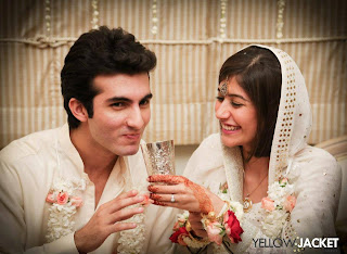 Shehroz Sabzwari and Syra Yousuf Nikkah